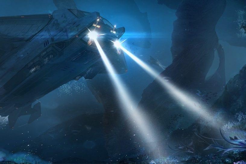 Sous marin sous-marin submarine océan drone boeing