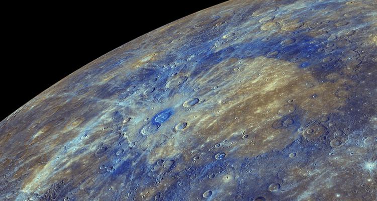 mercure sonde messenger topographie cartographie complète