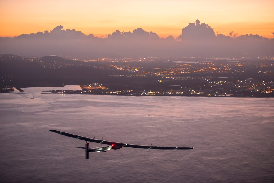 Solar impulse SIA betrand piccard hawaii avion solaire