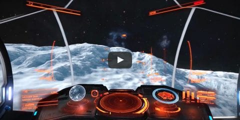 elite dangerous voyage virtuel europe jupiter rover surface planet planète