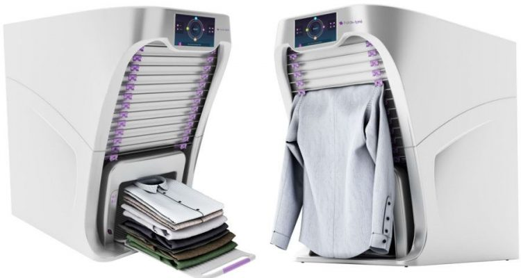 foldimate le formidable robot qui plie et repasse vos v tements. Black Bedroom Furniture Sets. Home Design Ideas