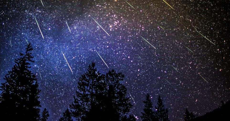 perséides juillet août été pluie de météorites météores ciel