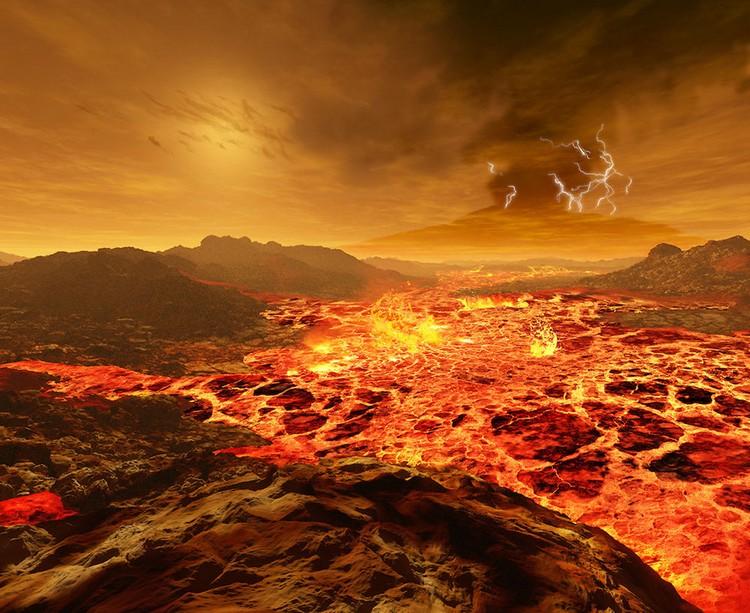 venus volcan