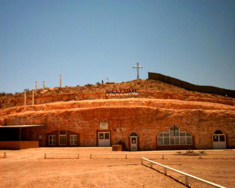 Coober pedy australie désert chaleur extrême températures mines
