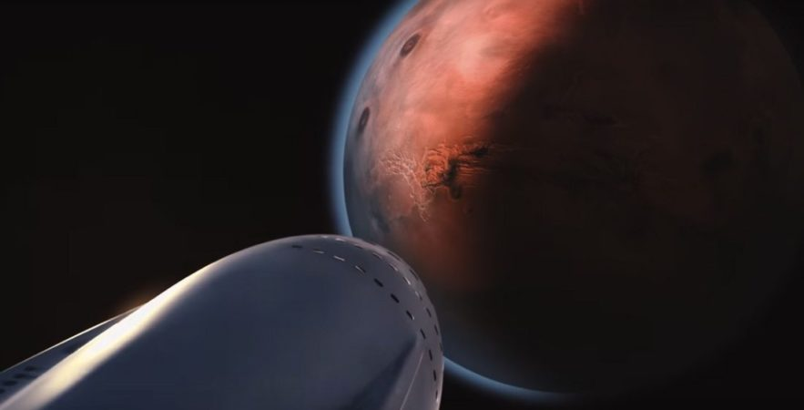 spacex colonisation mars elon musk ITS interplanetaire transport systeme