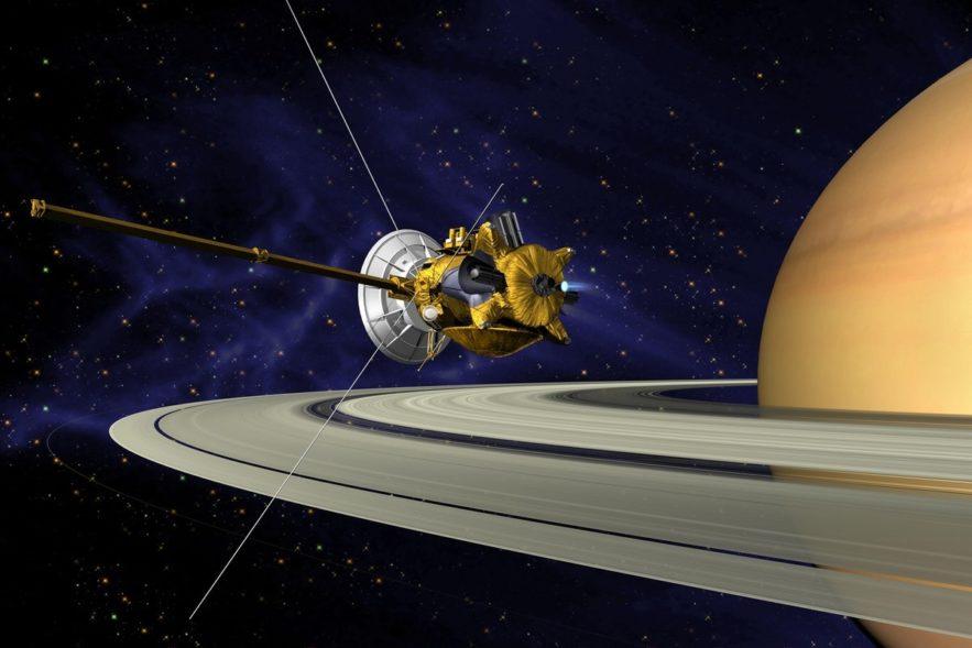 sonde cassini mission saturne anneaux exploration spatiale nasa