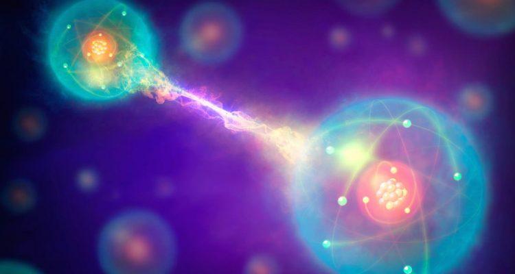 teleportation quantique etanglement fibre optique réseau