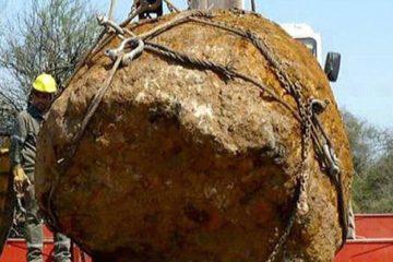 meteorite geante argentine 30 tonnes découverte decouverte