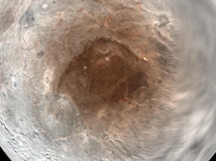 pôle nord charon lune pluton