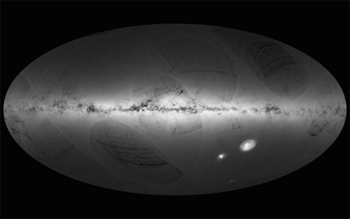 voie lactée galaxie mission gaia
