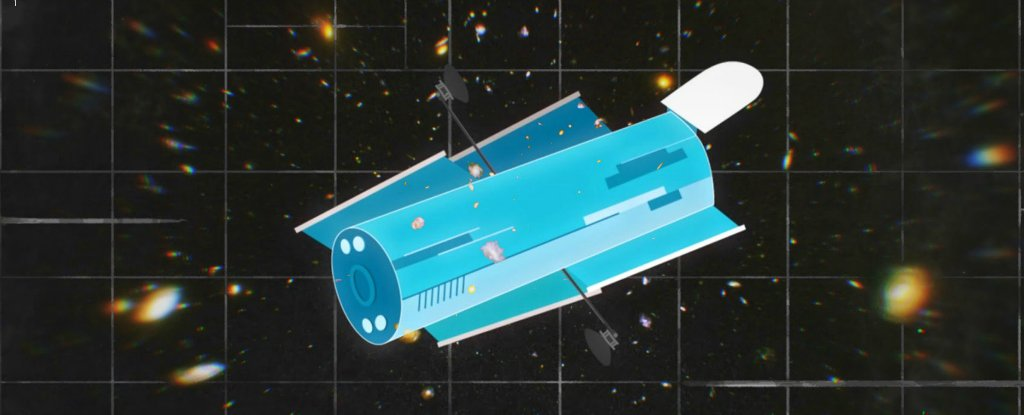 hubble deep field champ profond telescope spatial