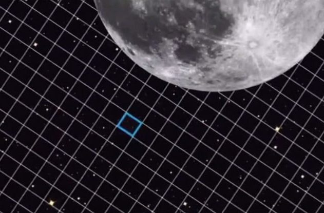 lune galaxies champ profond hubble