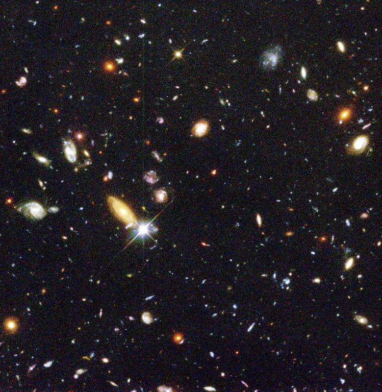 hubble telescope spatial 1995 cliché