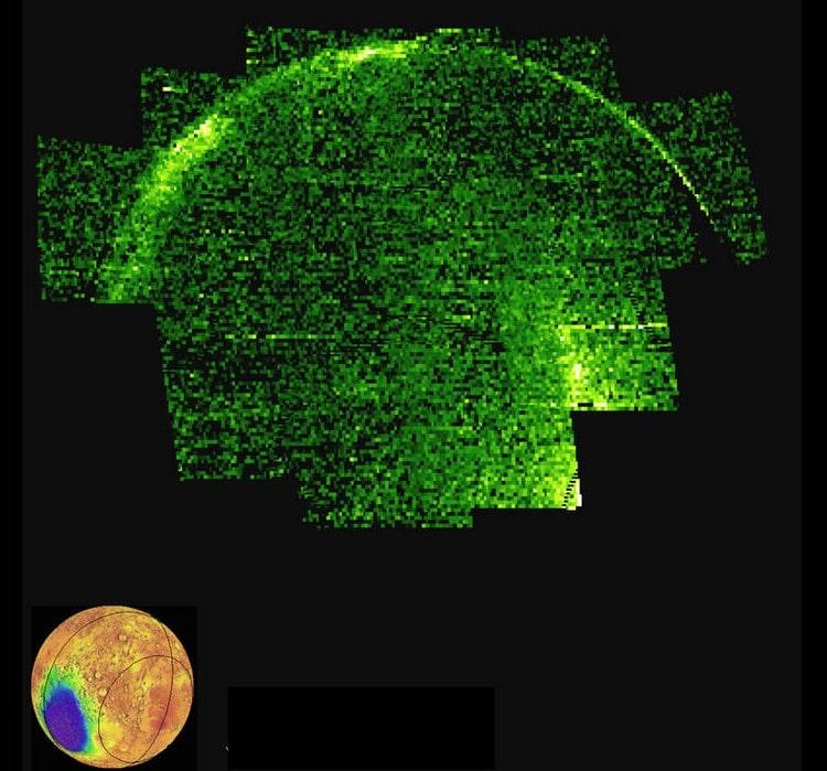 nasa maven ultraviolet mars atmosphère lumière nocturne