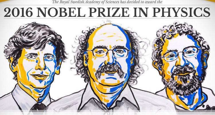 prix nobel physique 2016