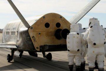 avion robotique spatial espace orbite mission secrete us air force