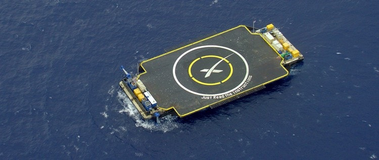 space x barge
