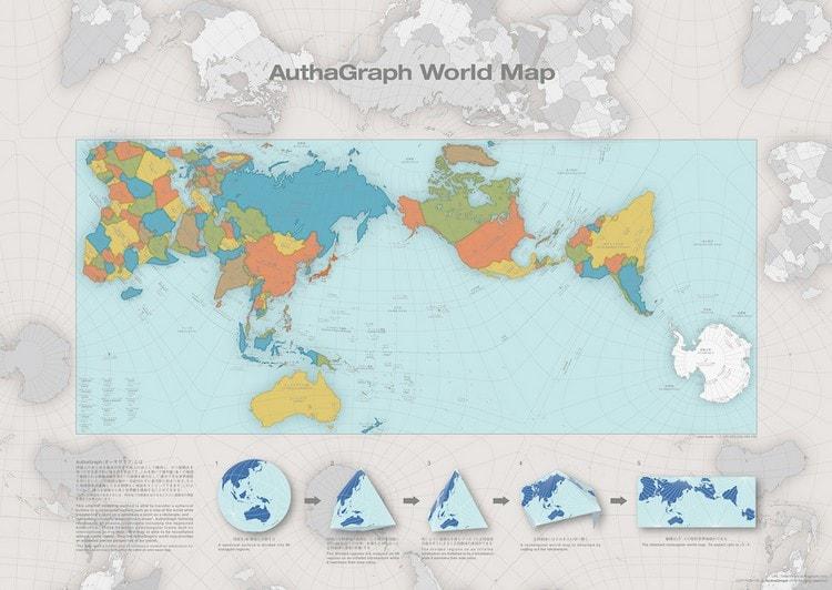 carte détaillée du monde précise fidele