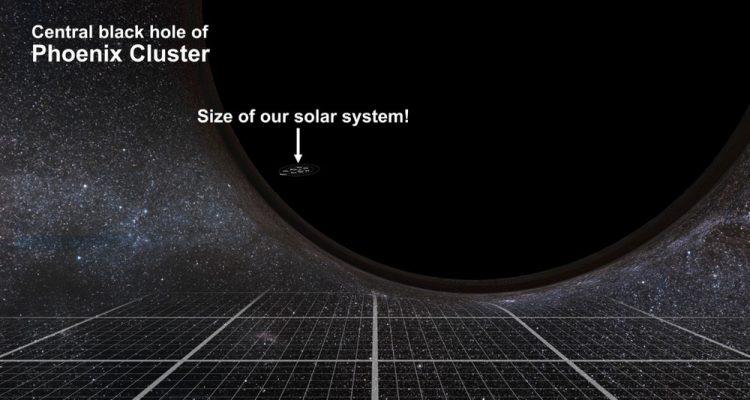 trou noir supermassif 20 milliard masses solaires