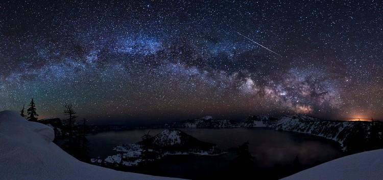 voie lactée ciel nocturne