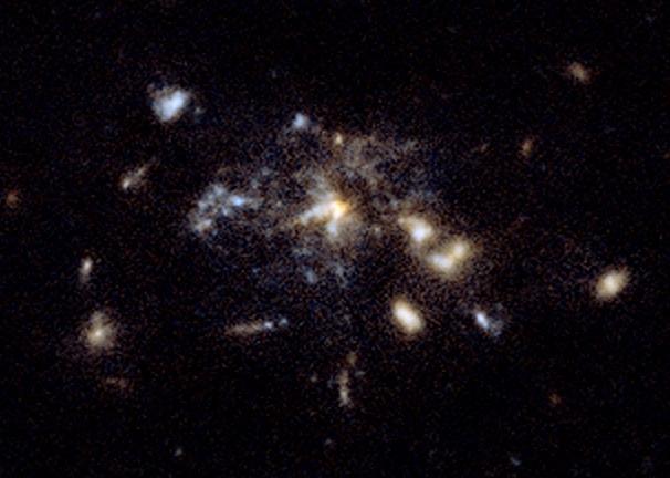 galaxie toile daraignée spiderweb
