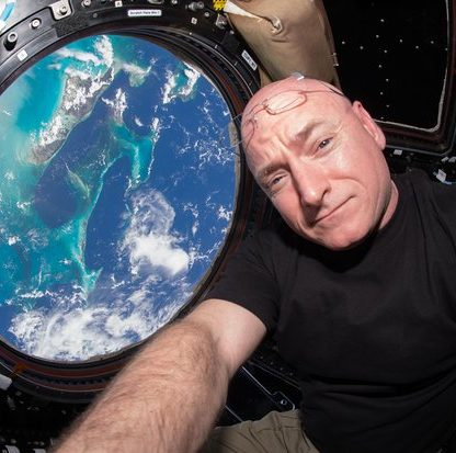astronaute iss américan vision