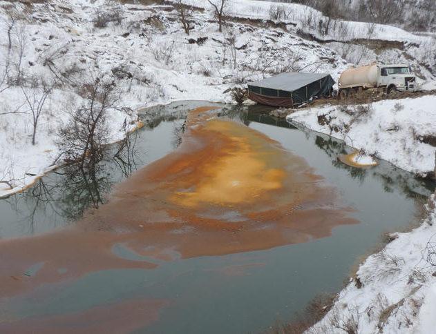 fuite massive pétrole