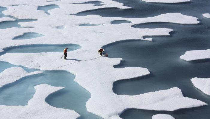 fonte glace glaciers