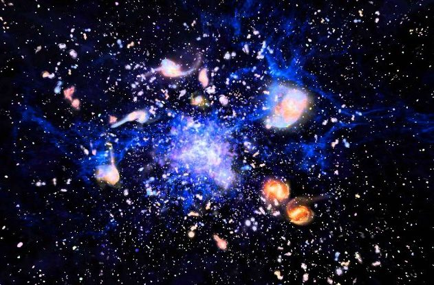 formation supergalaxies