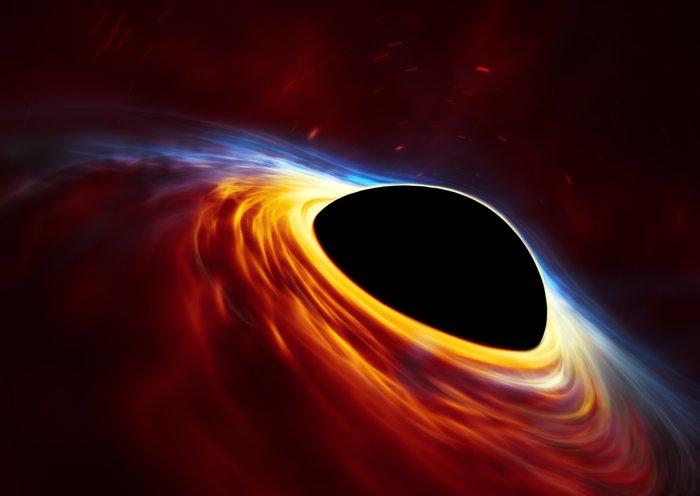supernova explosion trou noir étoile