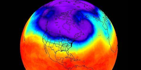 vortex polaire températures froides