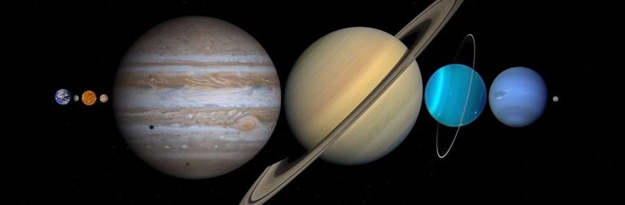 système solaire planètes terre lune distance