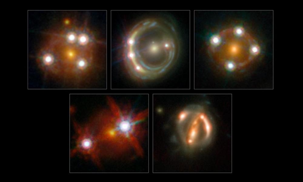 constante hubble lentilles gravitationnelles quasar