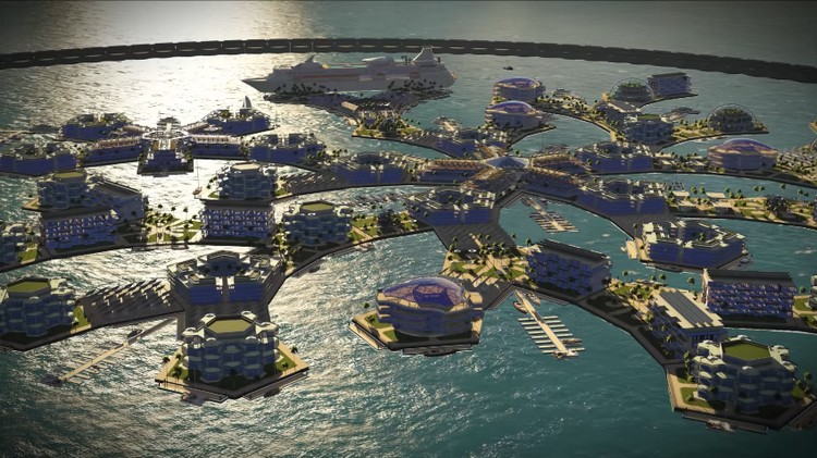 ile ville flottanteSeasteading Institute