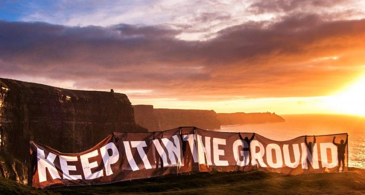 comustibles fossiles energie propre irlande