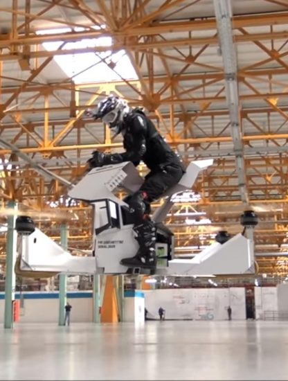 hoverbike hoversurf hover drone vol monoplace aéronef véhicule volant