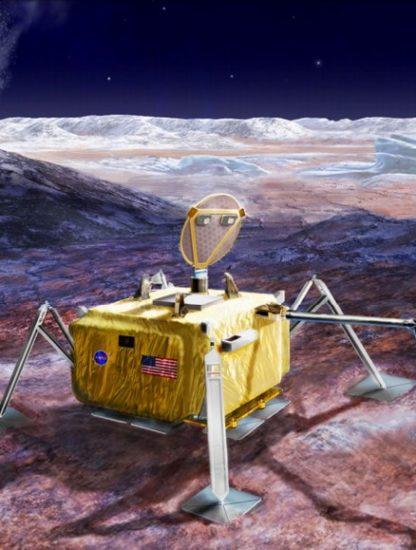 sonde nasa extraterrestre europe lune