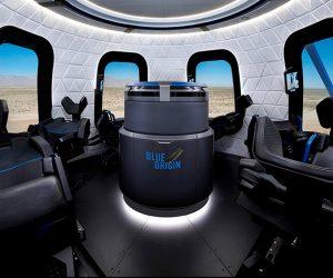 Blue Origin capsule new shepard fusée