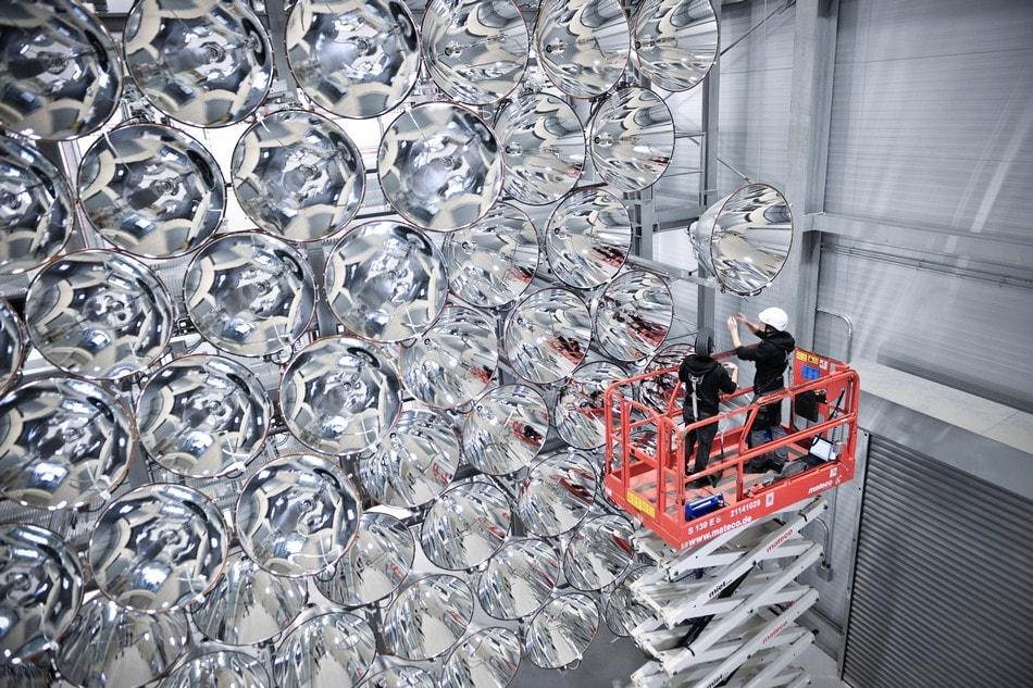 DLR German Aerospace Center soleil artificiel