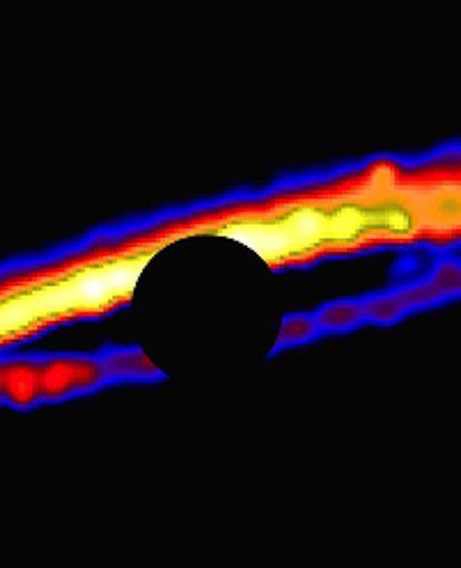nesvold disque depris etoile planète
