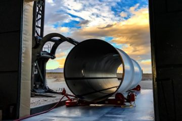 hyperloop tube one construction transport rapide révolutionnaire