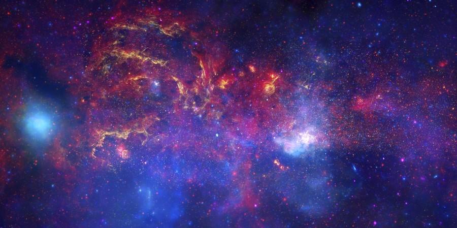 galaxie voie lactlee
