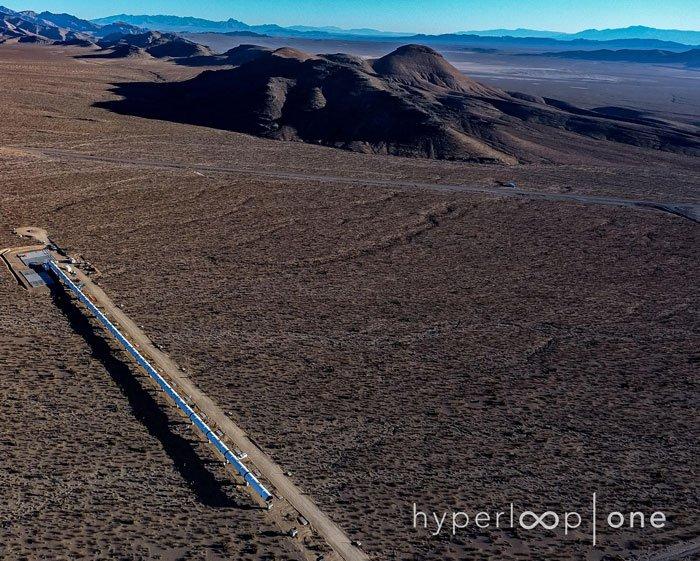 hyperloop one système transport révolutionnaire futur