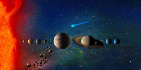 systeme solaire soleil planetes planètes naines ceinture de kuiper naine