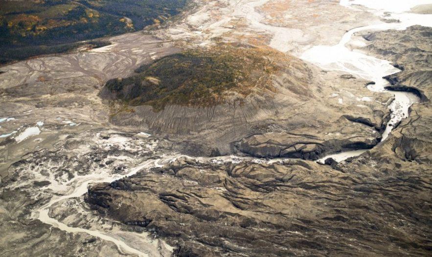 fonte rivière canada réchauffement climatique disparition