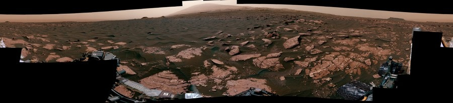 mars dunes rover nasa panorama 360