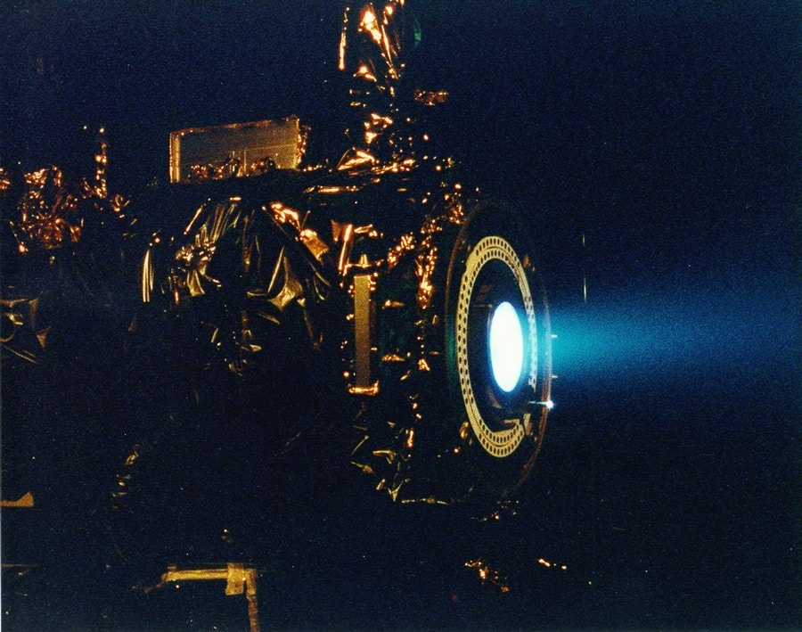 moteur ionique propulsion nasa jpl
