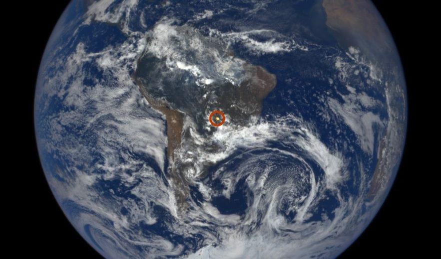 nasa terre telescope flash reflet lumineux soleil lumière