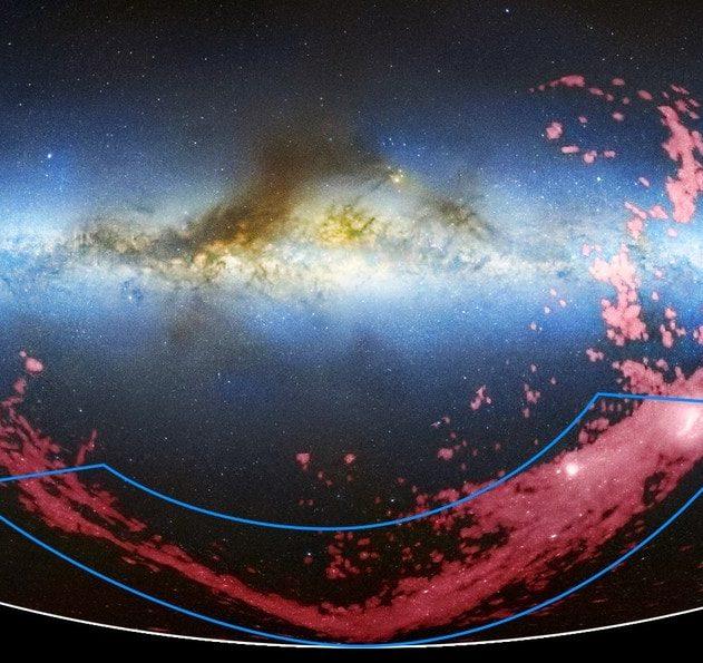 nuages de magellan courant magellanique pont magnétisme magnétique
