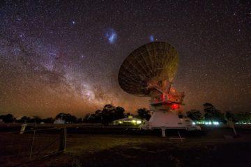 nuages de magellan courant magellanique pont magnétisme magnétique telescope-min